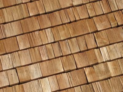 Holz Schindeln - Hintergrund